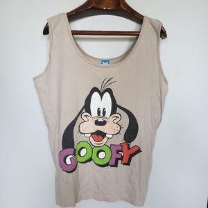 Vintage | Disney Goofy Boxy Tank Top